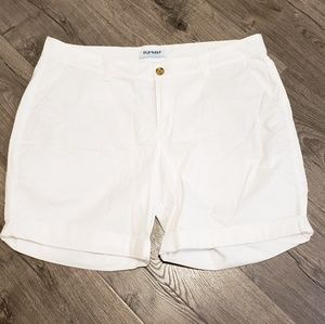 Women's White Old Navy Shorts